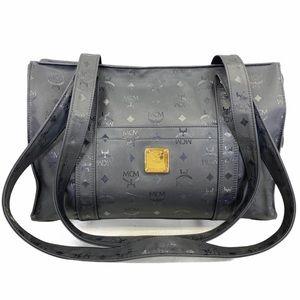 MCM Tote bag Black PVC